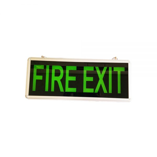 FIRE EXIT SIGN (DOUBLE FACE).